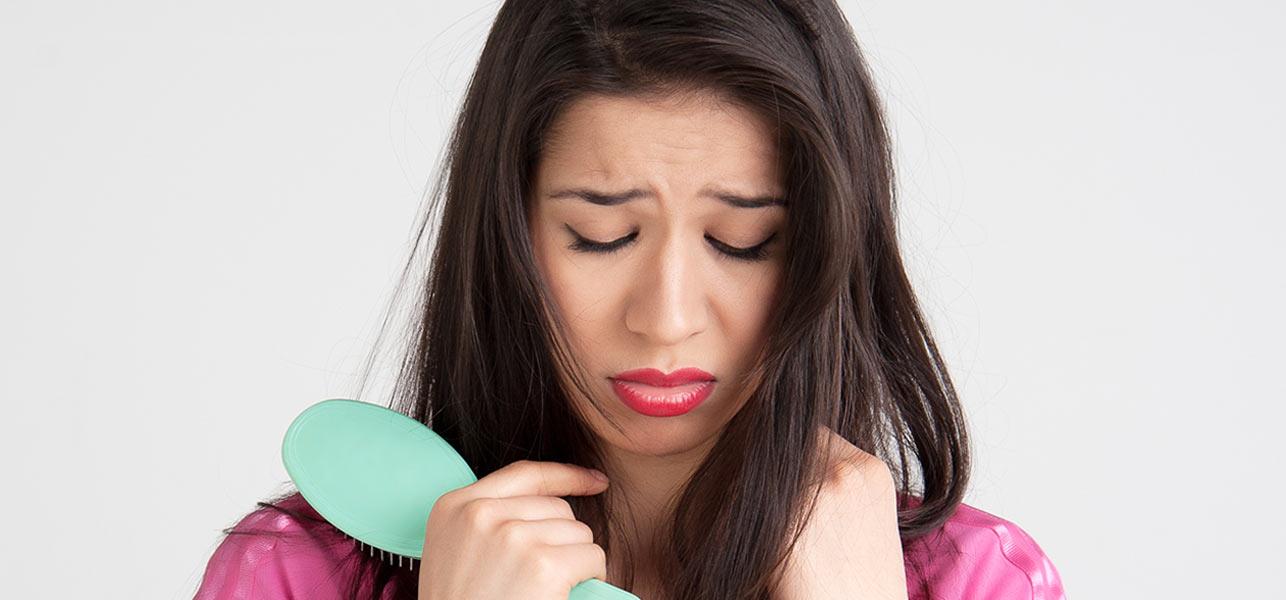 siwienie i wypadanie włosów przyczyny