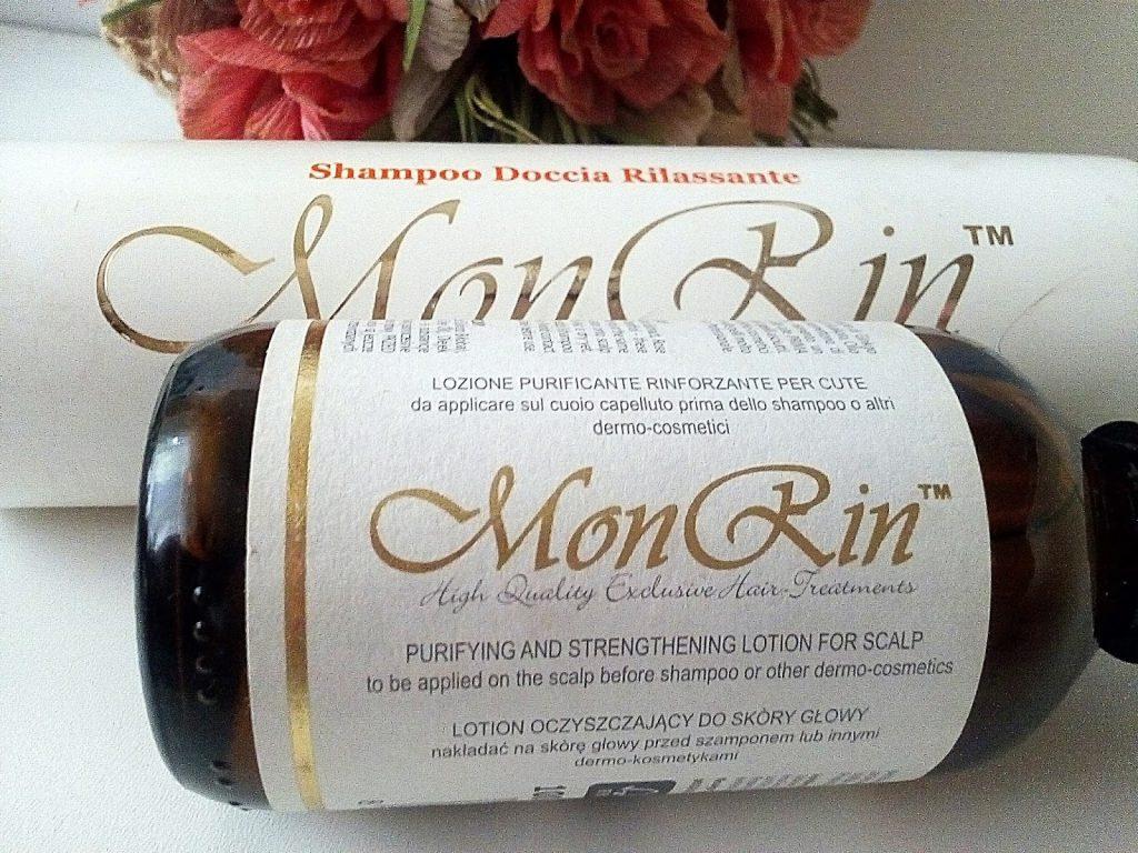 monrin szampon z olejkiem rycynowym
